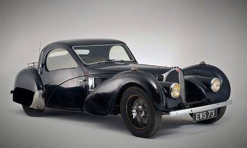 Bugatti Typ 57S Atalante - Gibt's den auch in Gelb?