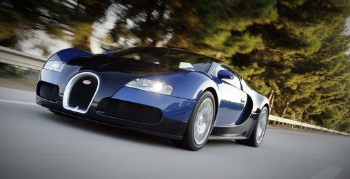 Bugatti Veyron 16.4 Grand Sport - schick, aber kaum Platz für einen Kindersitz