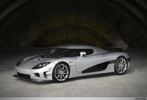 Koenigsegg Trevita - ist aus Schweden, sieht aber gar nicht aus wie IKEA