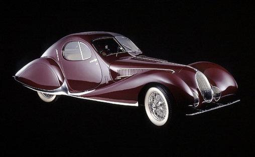 Talbot-Lago T150C SS Coupé - Lange Schnauze, kleine Augen