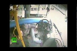 Dieser Busfahrer hatte Glück