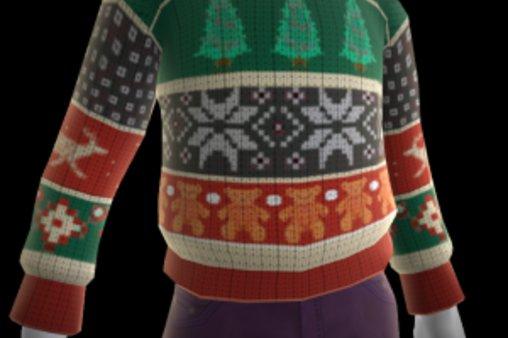 Ein hässlicher Weihnachtspullover
