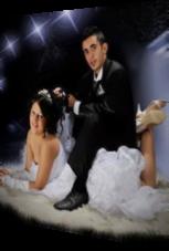 Dieses Hochzeitsfoto lässt Zweideutigkeit zu
