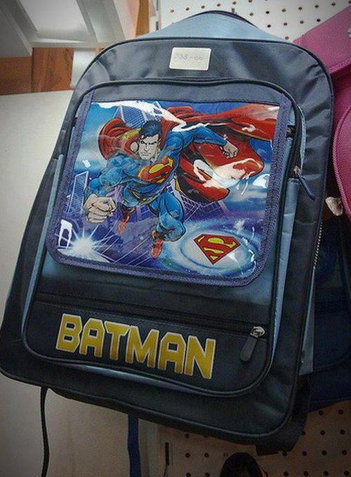 Batman wird zu Superman