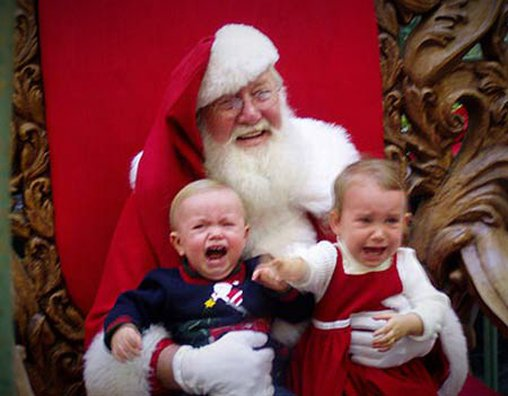 Ahhhh Hilfe! Der Weihnachtsmann!