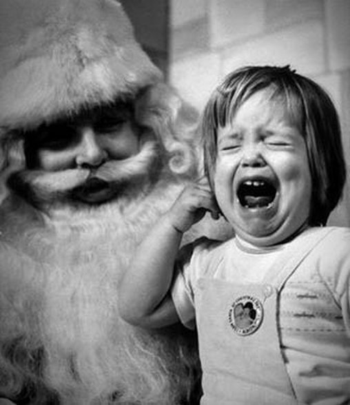 So ein böser Onkel, der Nikolaus!