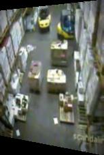 Gabelstapler-Fahrer vernichtet Wodka