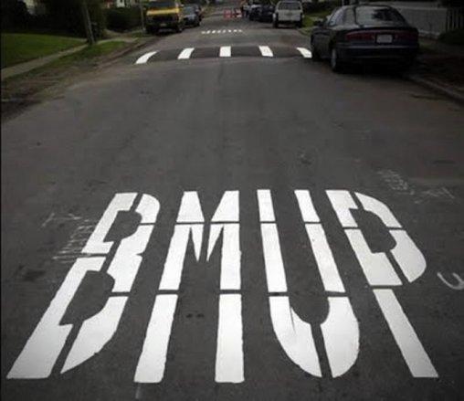 Straße falsch beschriftet – BMUP