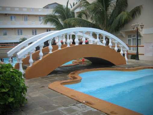 Apropos Brücken: Welchen Zweck erfüllt diese Konstruktion?