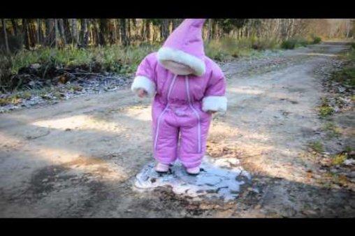 Baby vs. Eis