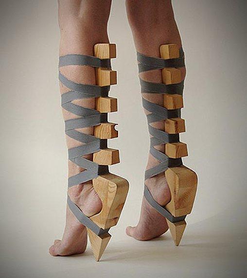 Kaum Gemeinsamkeiten mit dem klassischen Schuh