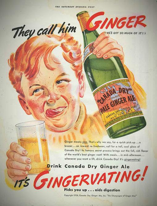 Betrunkenes Kind in Werbung