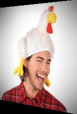 Mütze im Hühnchenstyle