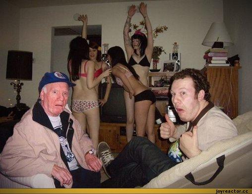 Party Hard im hohen Alter