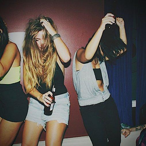 Tanzen auf der Party