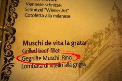 Gegrillte Muschi vom Rind?