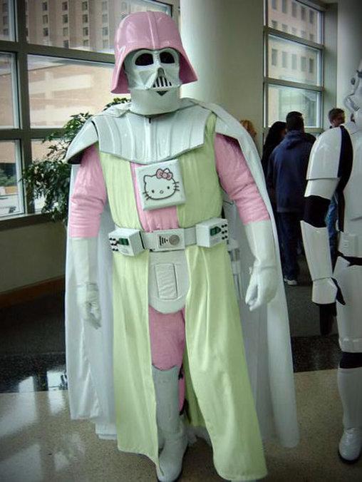 Darth Vader hat es wohl mit Hello Kitty getrieben