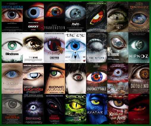 Schau mit in die Augen – Plakate von Horrorfilmen