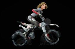 Bodypainting Motorrad