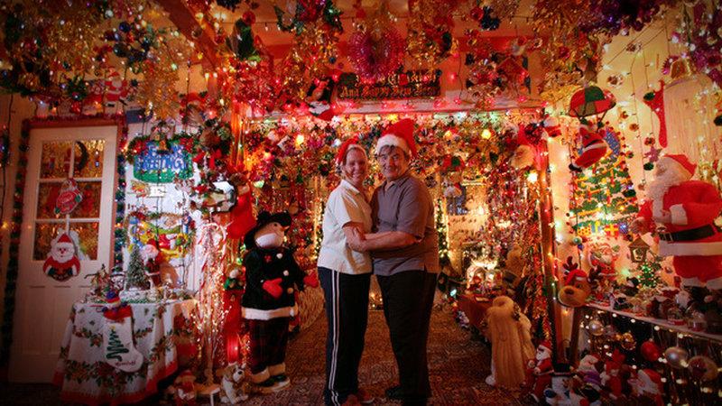 erstaunlich Verrueckte Weihnachtsdeko Part - 1: Verrückte Weihnachtsdeko im Inneren des Hauses.