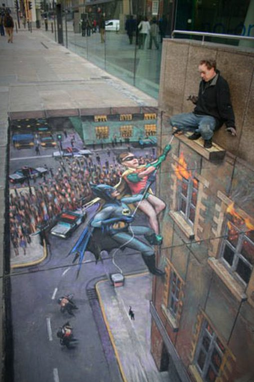 Batman und Robin retten dich, keine Angst!