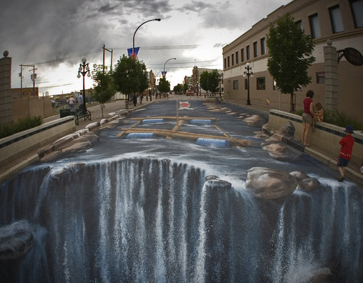 Dieser monströse Wasserfall verschlingt alles!