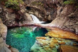 Der Feenpool in Schottland