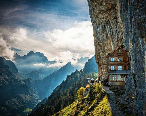Faszinierendes Berghotel