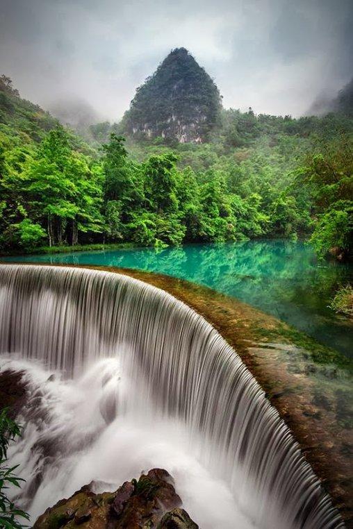 Traumhafter Wasserfall