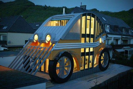 Ein Haus für echte Autofans