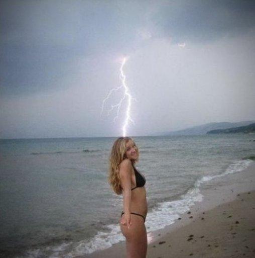 Das schlägt der Blitz ein
