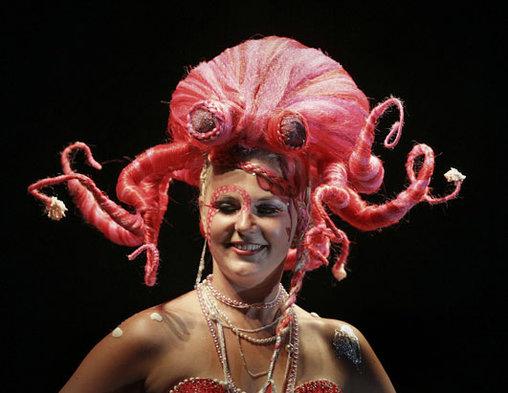 Oktopus-Frisur