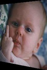 Der berühmte Mittelfinger