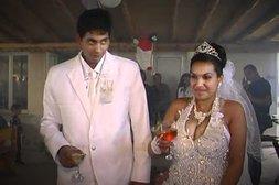 Hochzeit geht in Flammen auf
