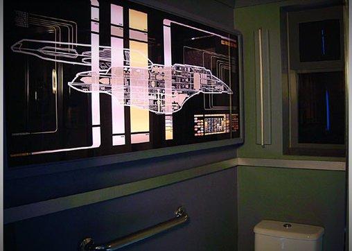 Die Voyager im Star Trek-Apartment