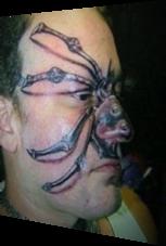 Das vielleicht hässlichste Tattoo aller Zeiten