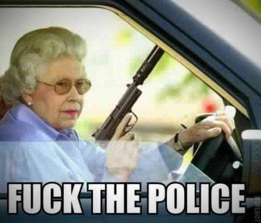 Die Queen beschützt ihr Land