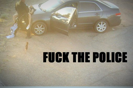 Fuck The Police – you're doing it right