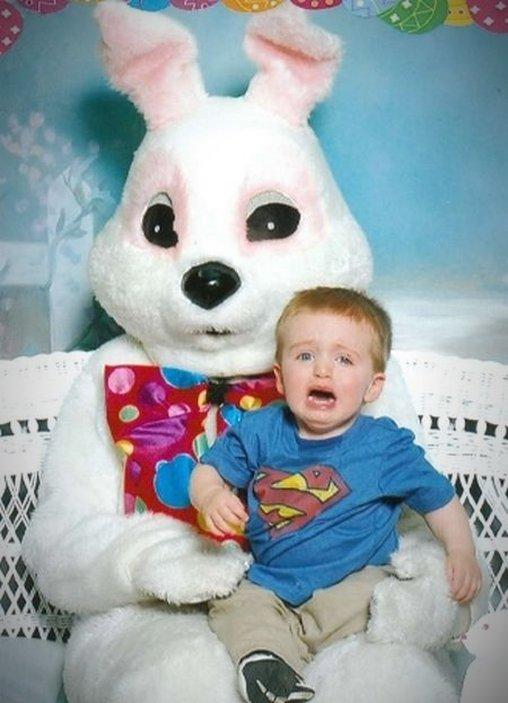 Osterhasen Baby-Portrait