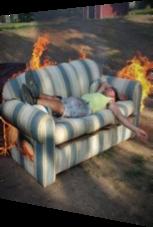 Dieses Sofa ist keine gute Schlafgelegenheit