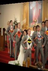 Diese Superhelden stehlen der Braut die Show