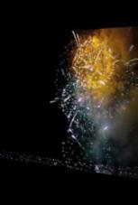 Feuerwerk einfach mal rückwärts ansehen