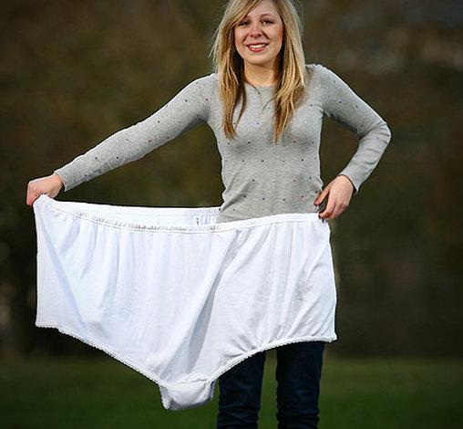 Unterhose als Zeltersatz?