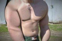 Falsche Muskelberge dank Photoshop