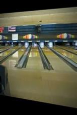 Glück gehabt beim Bowling