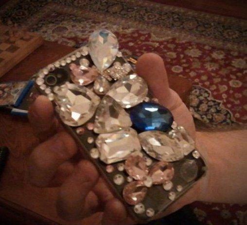 Bling Bling am Smartphone - zu viel des Guten