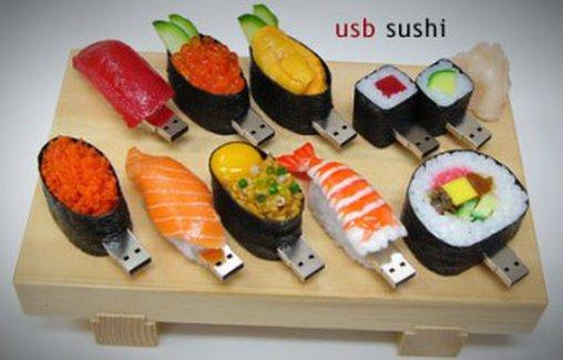 Leckeres USB-Sushi
