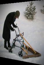 Der ultimative Rentner-Schneepflug