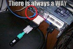 USB über Umwege anschließen